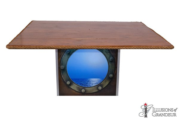 Illuminated Porthole Dining Tables