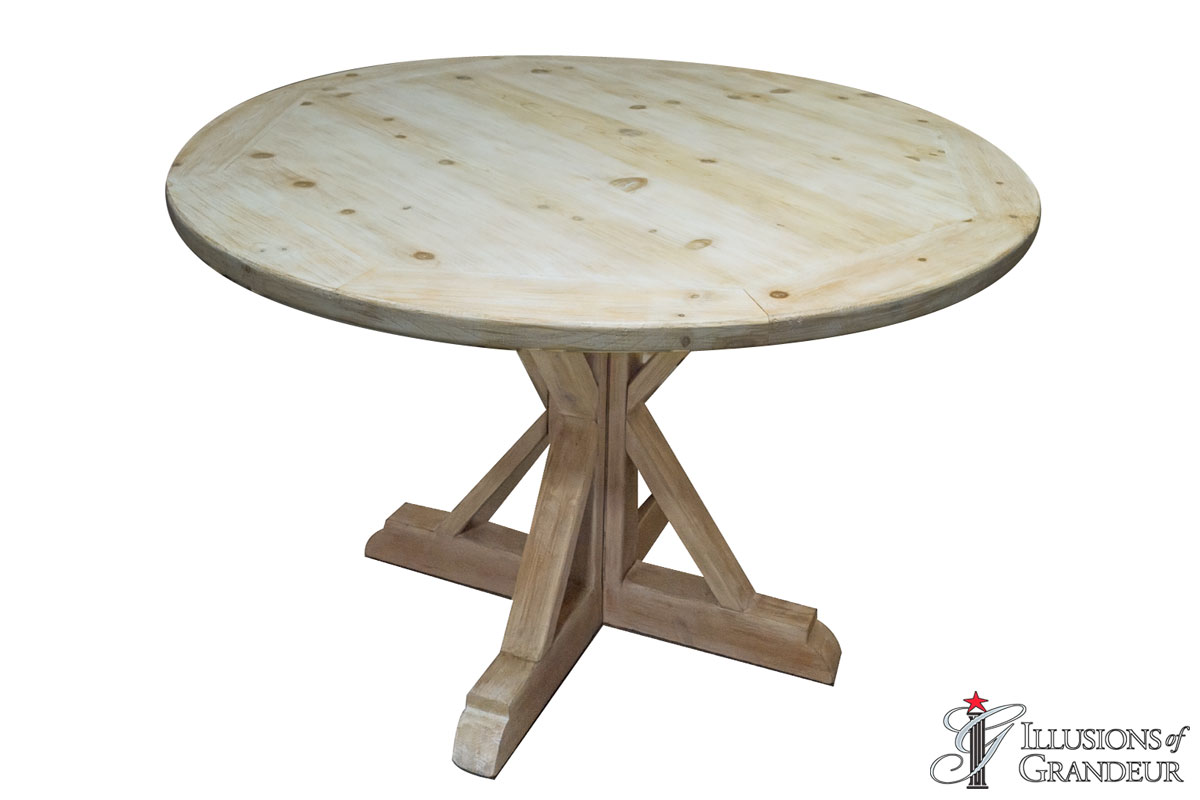 "48"" Vintage Round Dining Tables"