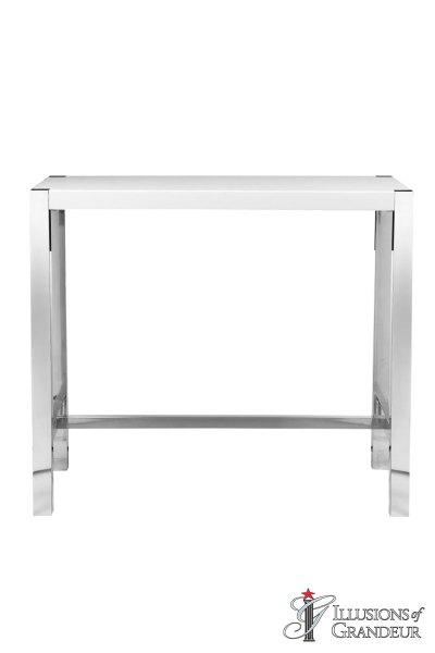 White Communal Bar Tables