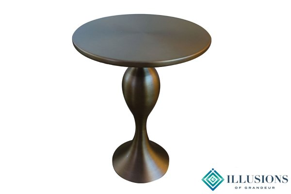 Side Tables: Antique Bronze