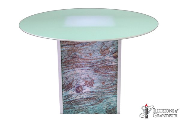 Illuminated Blue Cypress Dining Tables