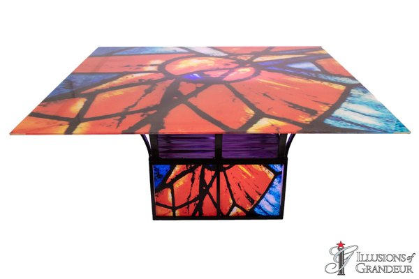 Illuminated Chagall Dining Tables