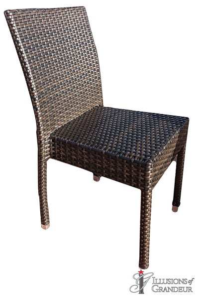 Espresso Outdoor Chairs