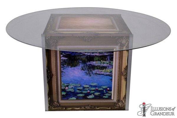Illuminated French Gallery Dining Tables