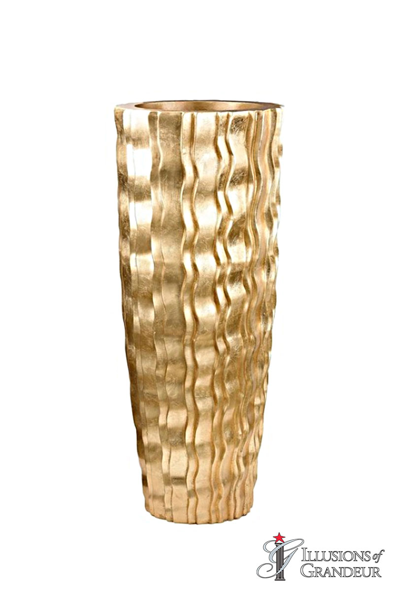 Gold Wave Urn small