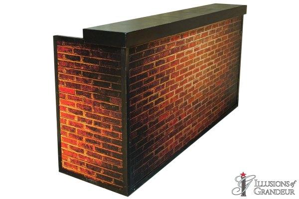 Illuminated Brick Bars