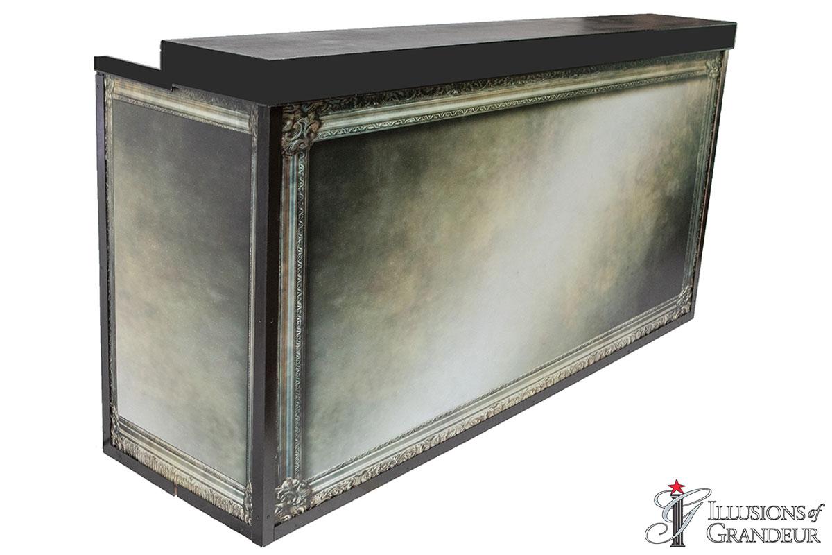 Illuminated Mercury Glass Bar