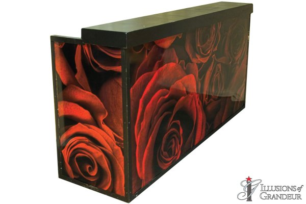 Illuminated Red Rose Bar
