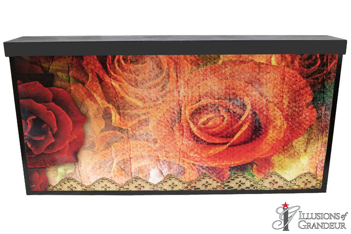 Illuminated Vintage Rose Bar