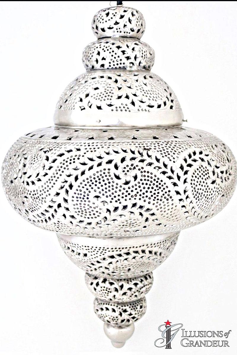 Moroccan Silver Marrakesh Lanterns