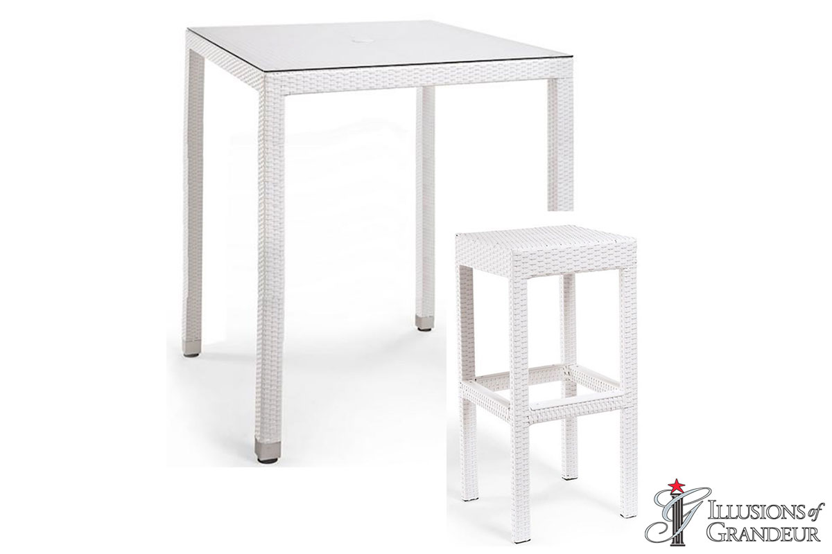Palmero Bar Table Set