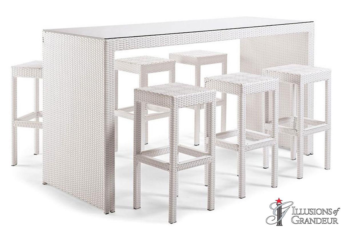 Palmero Communal Bar Table Set