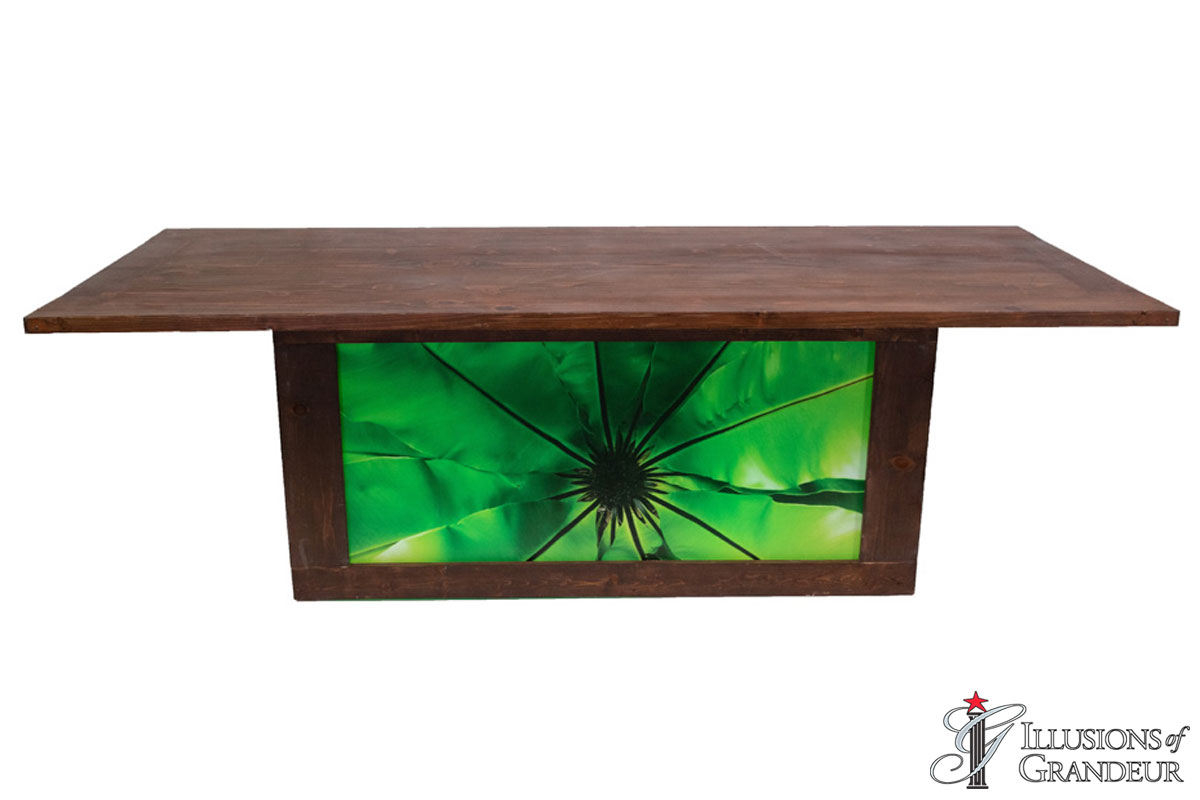 Redwood Dining Tables with Leaf Images