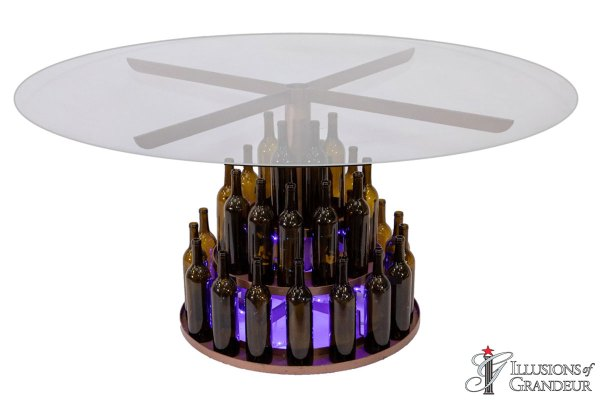 Wine Bottle Dining Tables