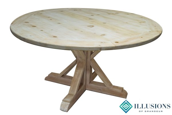 Vintage 60″ Round Dining Tables