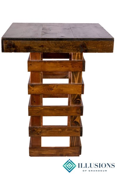 Rustic Cocktail Tables ~ tall