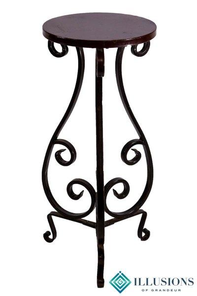 Pedestals Wrought Iron