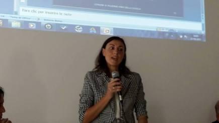 L'assessore alla Scuola e alla Realtà dell'infanzia del Comune di Palermo, Barbara Evola, che ringraziamo per aver creduto nei nostri progetti...