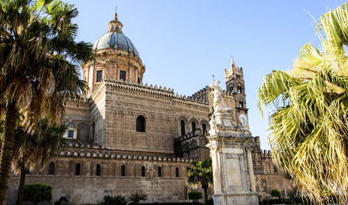 Palermo Cathedral in Italy