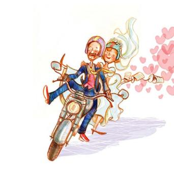 Harley - matrimonio