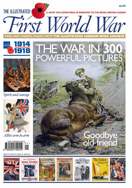 Illustrated First World War based on images from the Illustrated London News