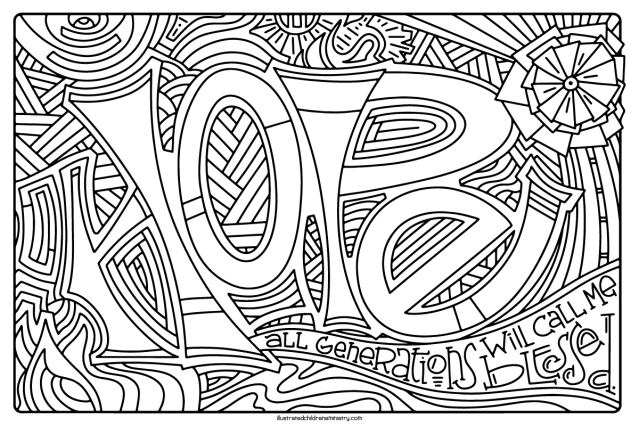 Advent Coloring Posters Archives – Illustrated Ministry