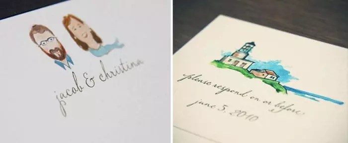 Notecard and RSVP