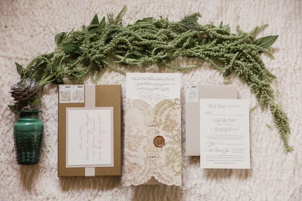illustrated Wedding Dress Lace