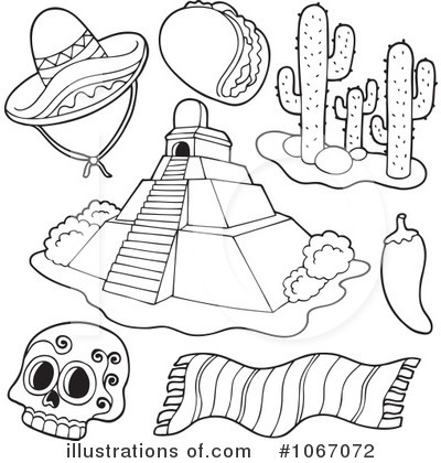 royalty free rf mexican clipart illustration by visekart stock