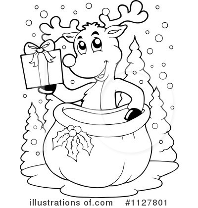 royalty free rf reindeer clipart illustration by visekart stock
