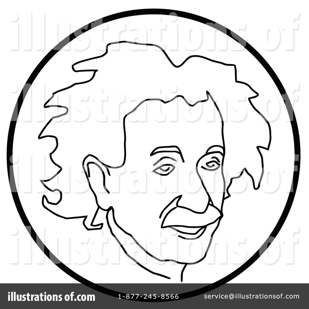 Albert Einstein Clipart
