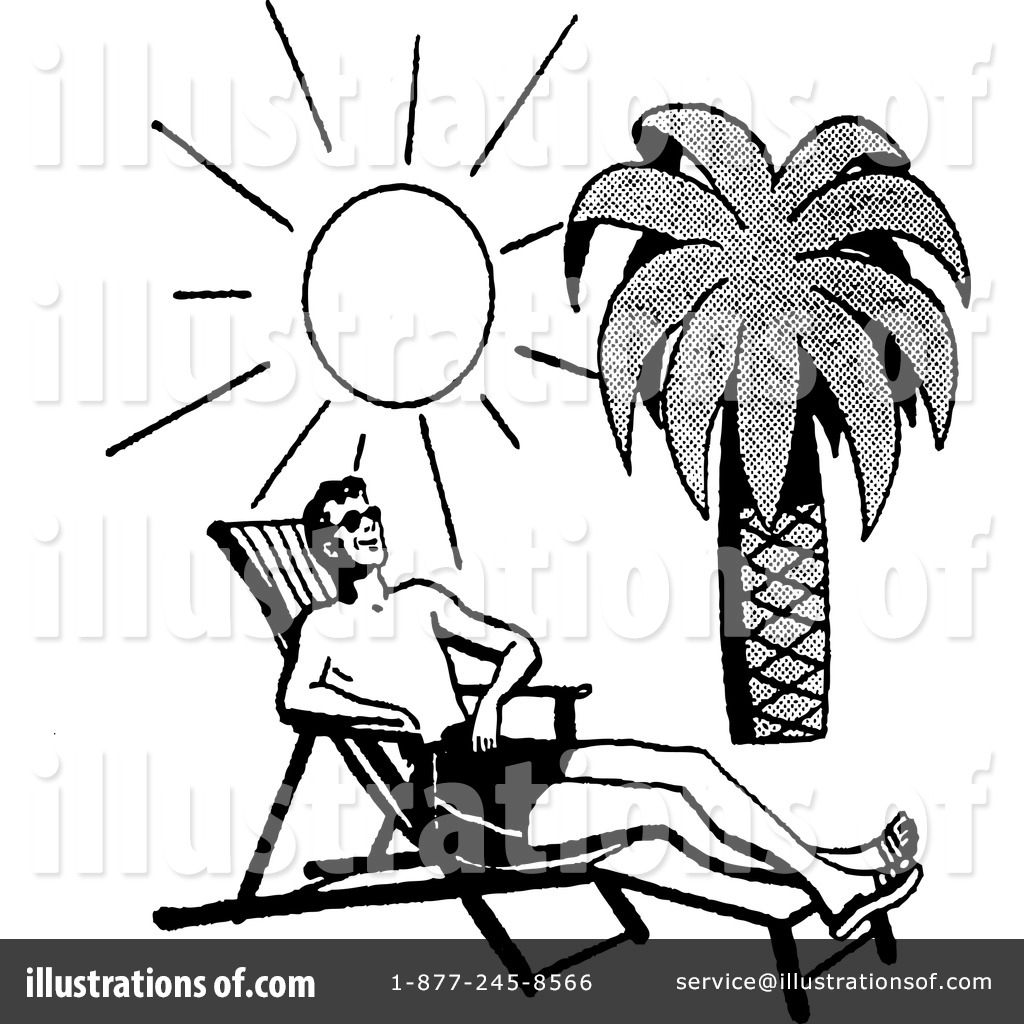 At The Beach Clipart