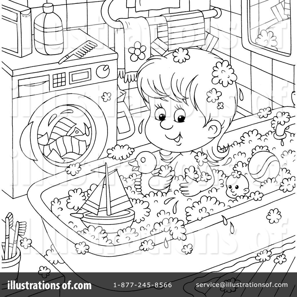 Bath Time Clipart