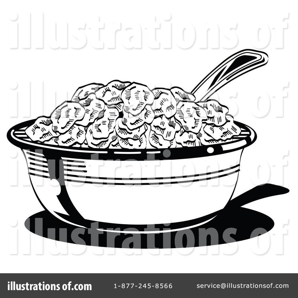 Bowl Of Cereal Coloring Sheet Coloring Pages