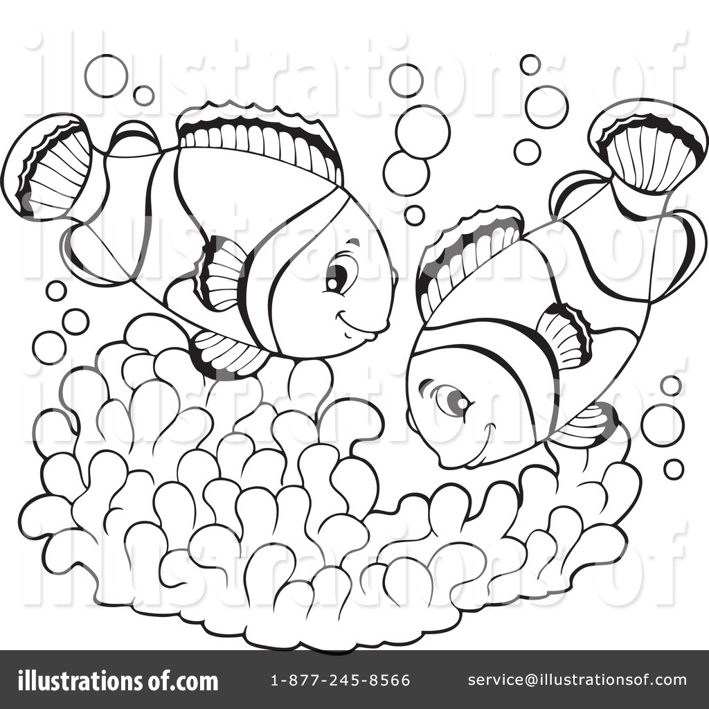 clownfish clipart 1112689 illustration by visekart