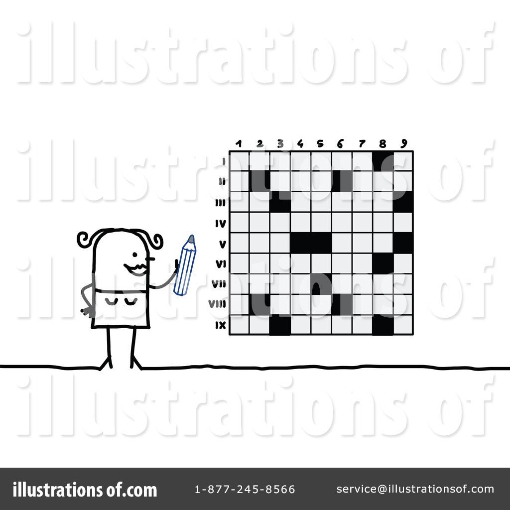 Crossword Puzzle Clipart