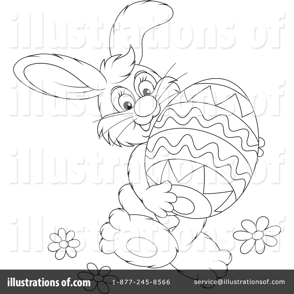 Papercharm Free Bunny Silhouette Easter Printable Art
