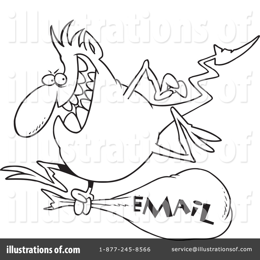 Email Clipart By Ron Leishman