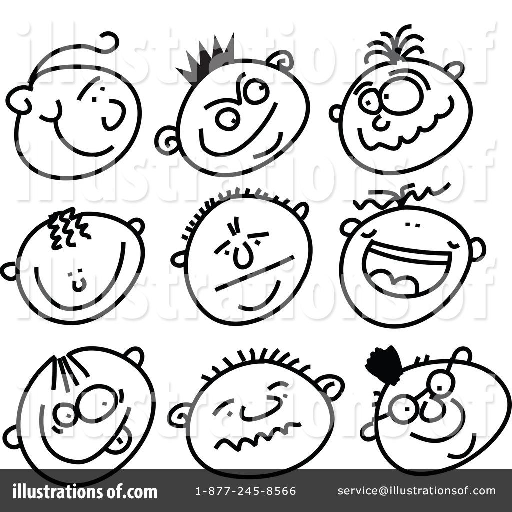 Faces Clipart