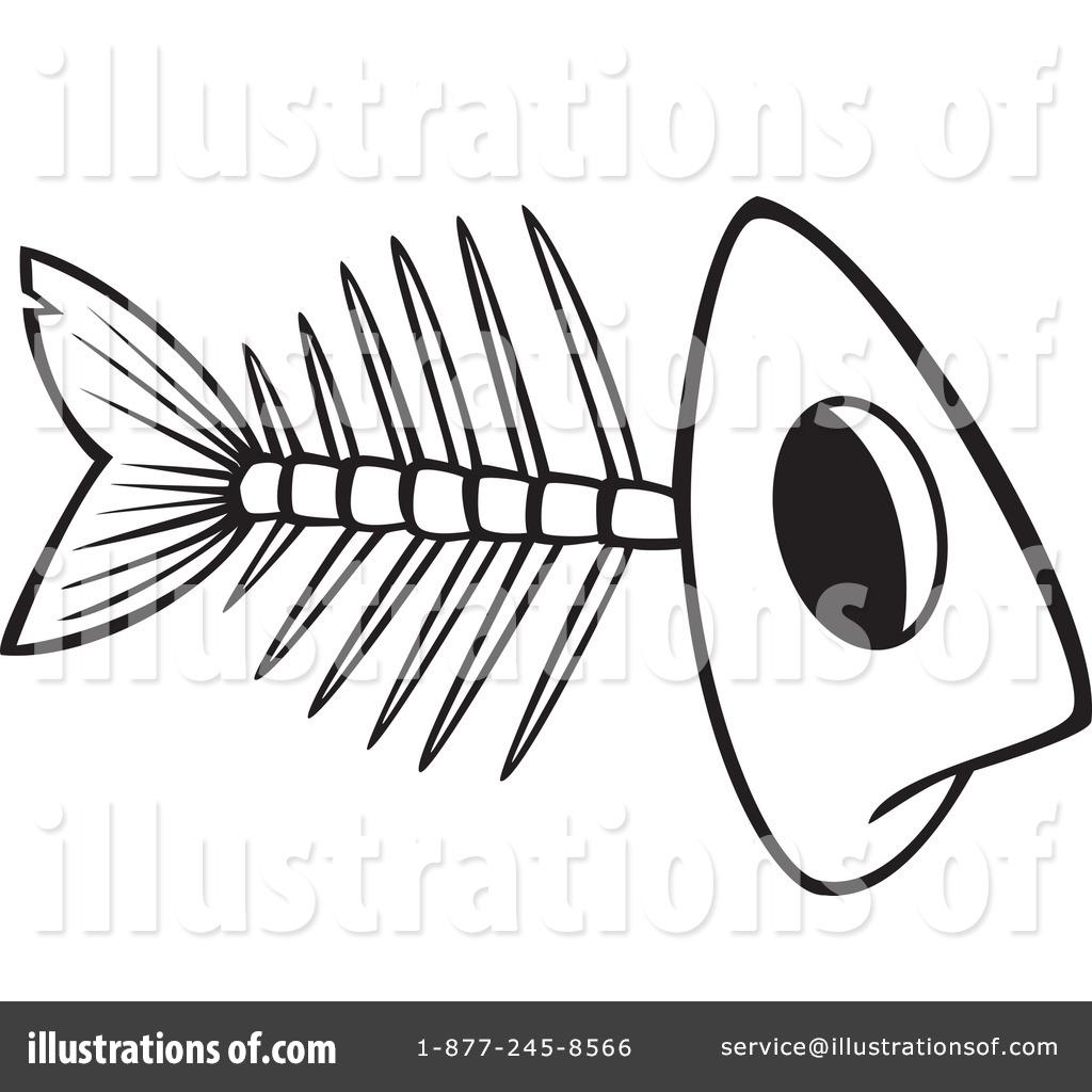 Fish Bones Clipart