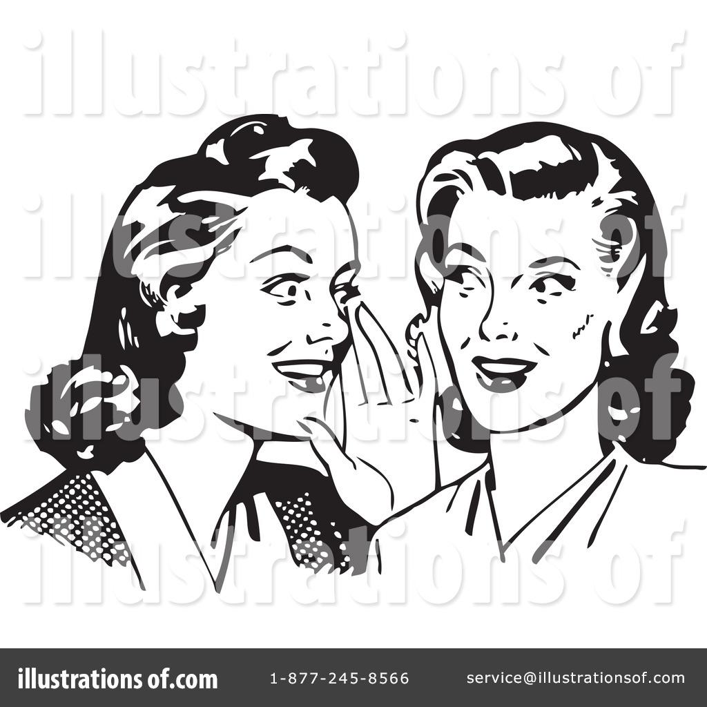 Gossip Clipart