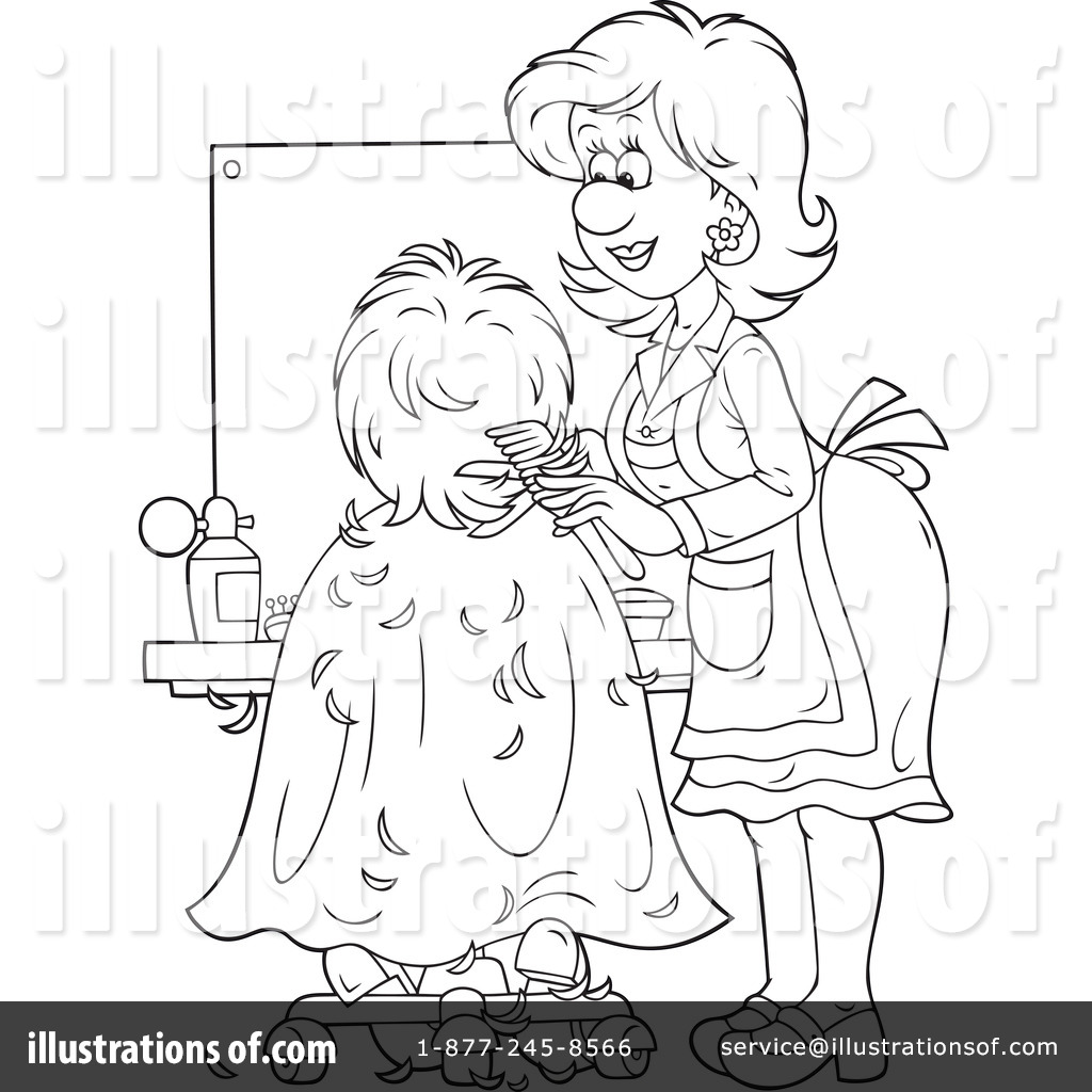 Uniform Pink Hair Dresser