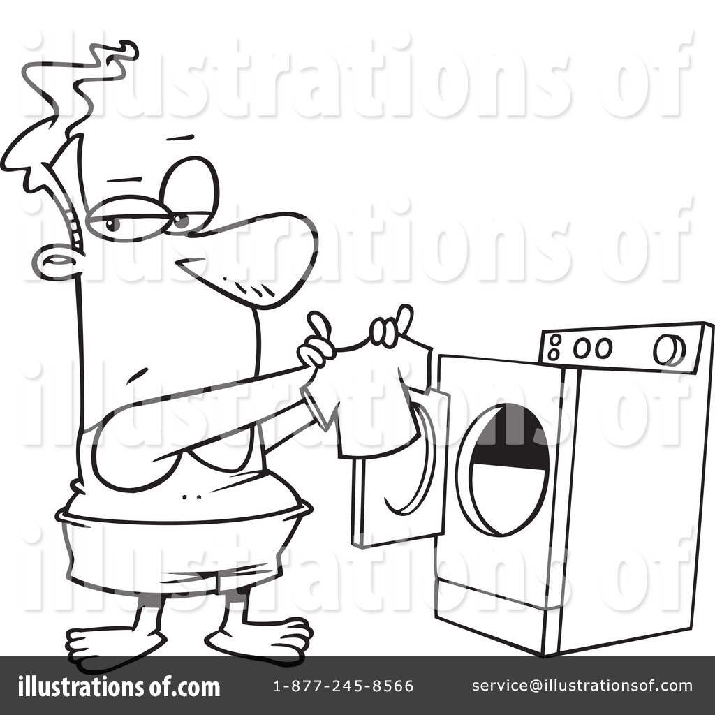 Laundry Clipart By Ron Leishman