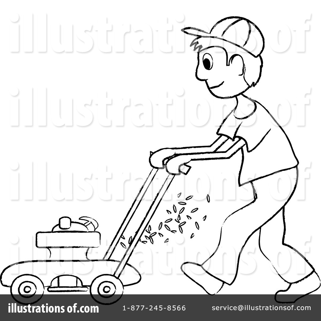 Lawn Mower Outline