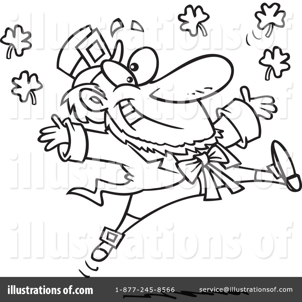 Leprechaun Clipart By Ron Leishman