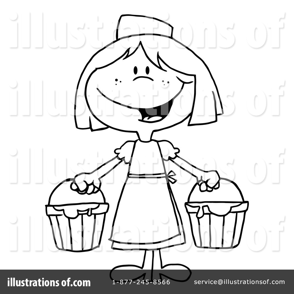 Milk Maid Clipart