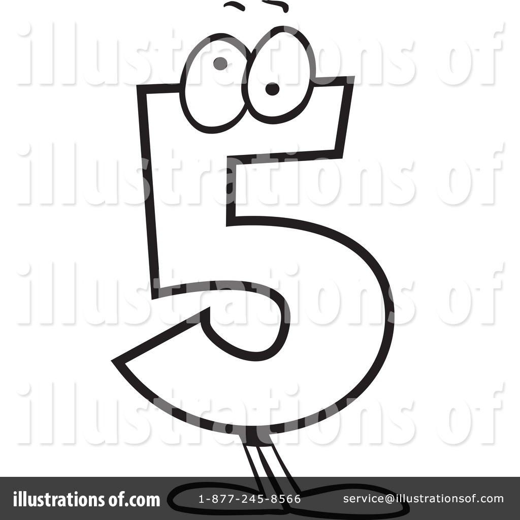 Number 5 Clipart