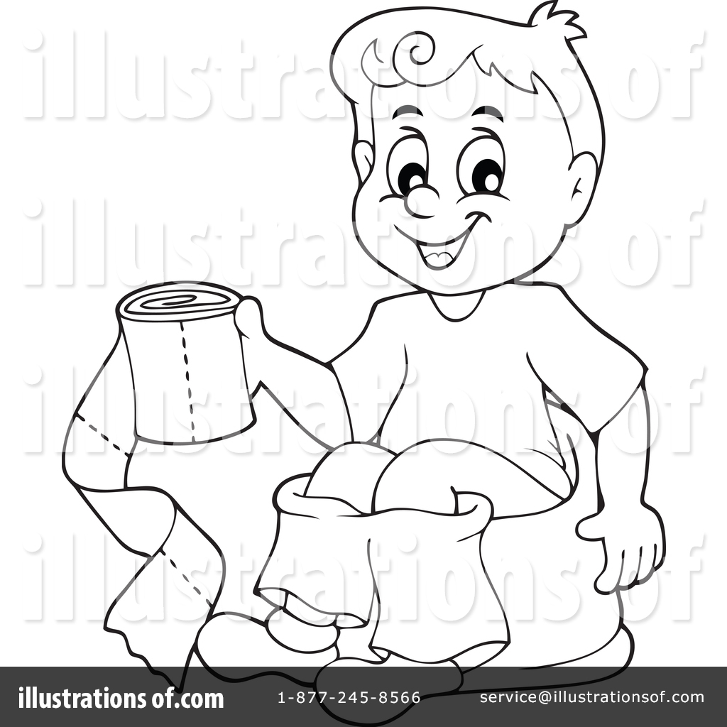 Potty Training Clipart