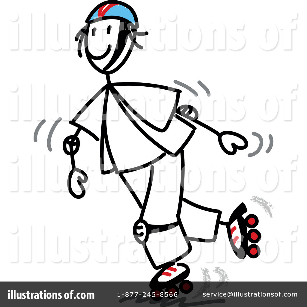 Roller Blades Clipart