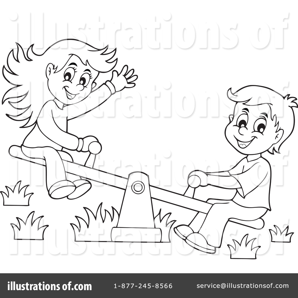 See Saw Clipart